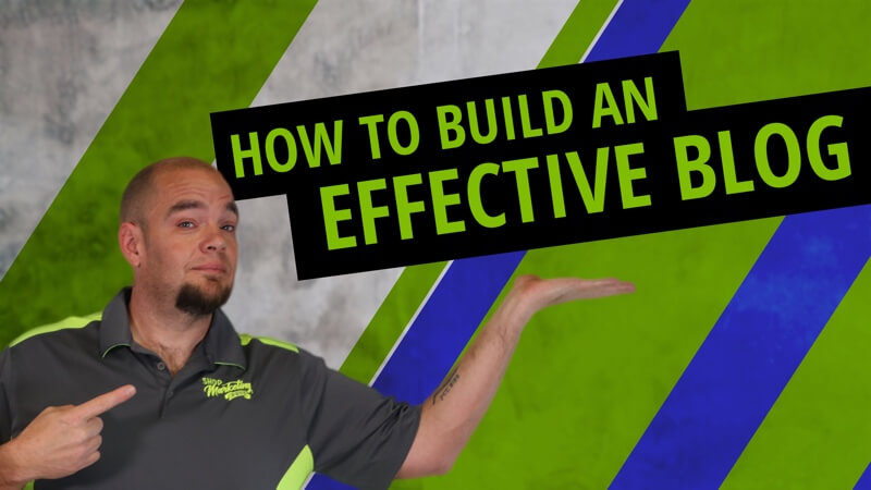 How to build an effective blog